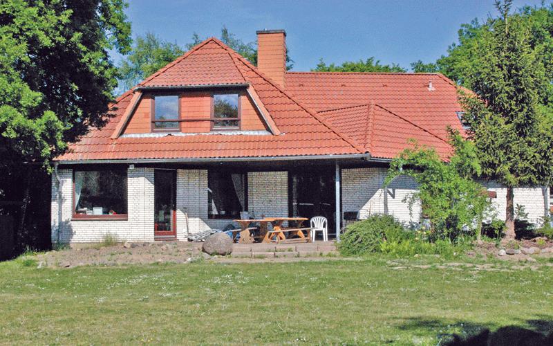 Terrasse der WG Kronshagen