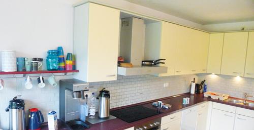 Küche in der WG Kronshagen