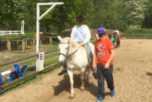 Ausflug auf einen Reiterhof