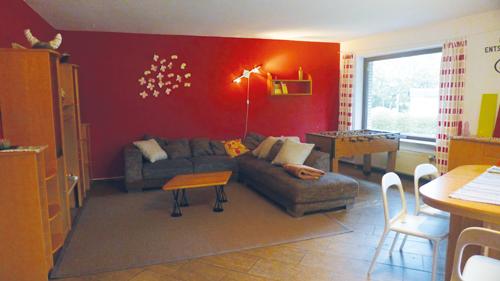 Wohnzimmer der WG Kronshagen
