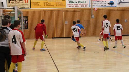 Fußballspieler Jugend