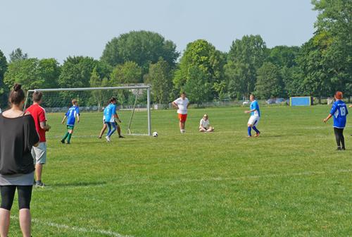 Jubiläums-Fußballturnier