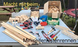 Miniseifenkistenrennen Plakat